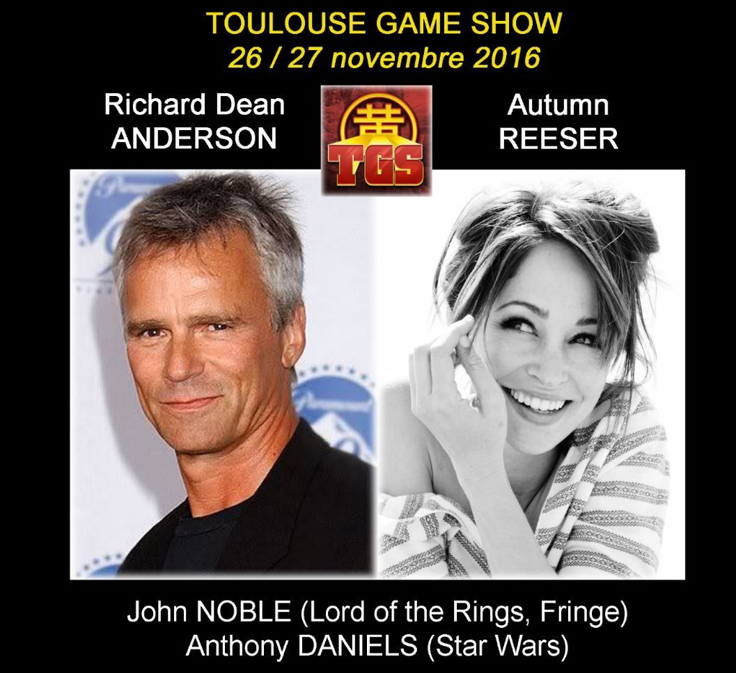 La comédienne Autumn Reeser sera présente au Toulouse Game Show.