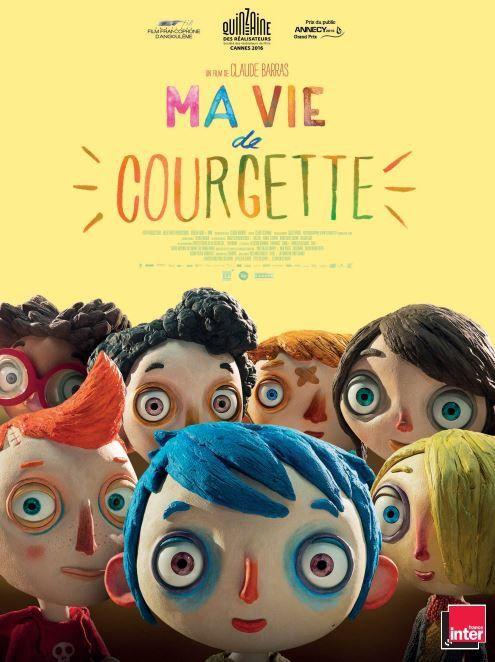 A découvrir dans les salles dès ce mercredi : Ma vie de courgette (cinéma d'animation).