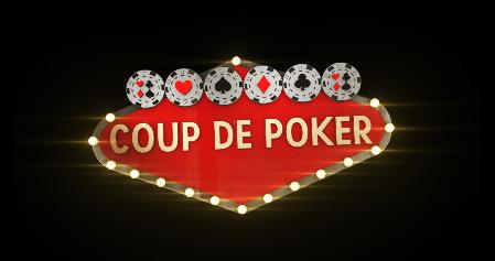 Lancement du programme court Coup de poker sur BFMTV et BFM Sport.
