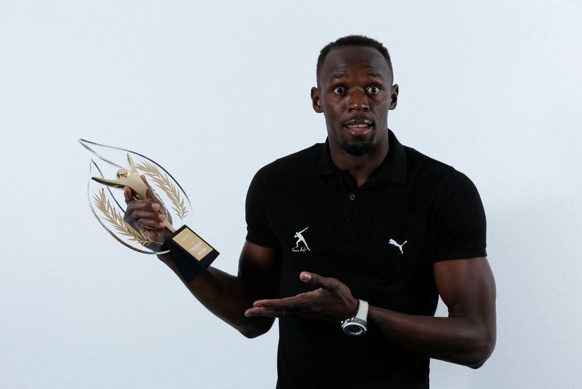 Simone Biles et Usain Bolt élus Champions des champions monde L'Équipe 2016.