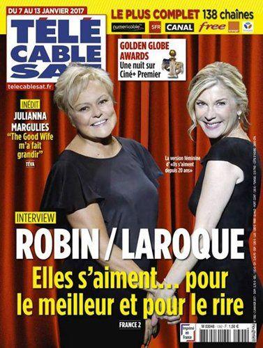 La Une des hebdomadaires TV ce lundi : Grégory Lemarchal, Michèle Laroque, Muriel Robin.