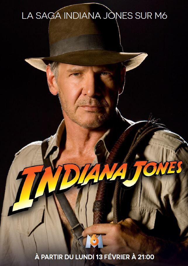 La saga Indiana Jones rediffusée dès ce lundi sur M6.