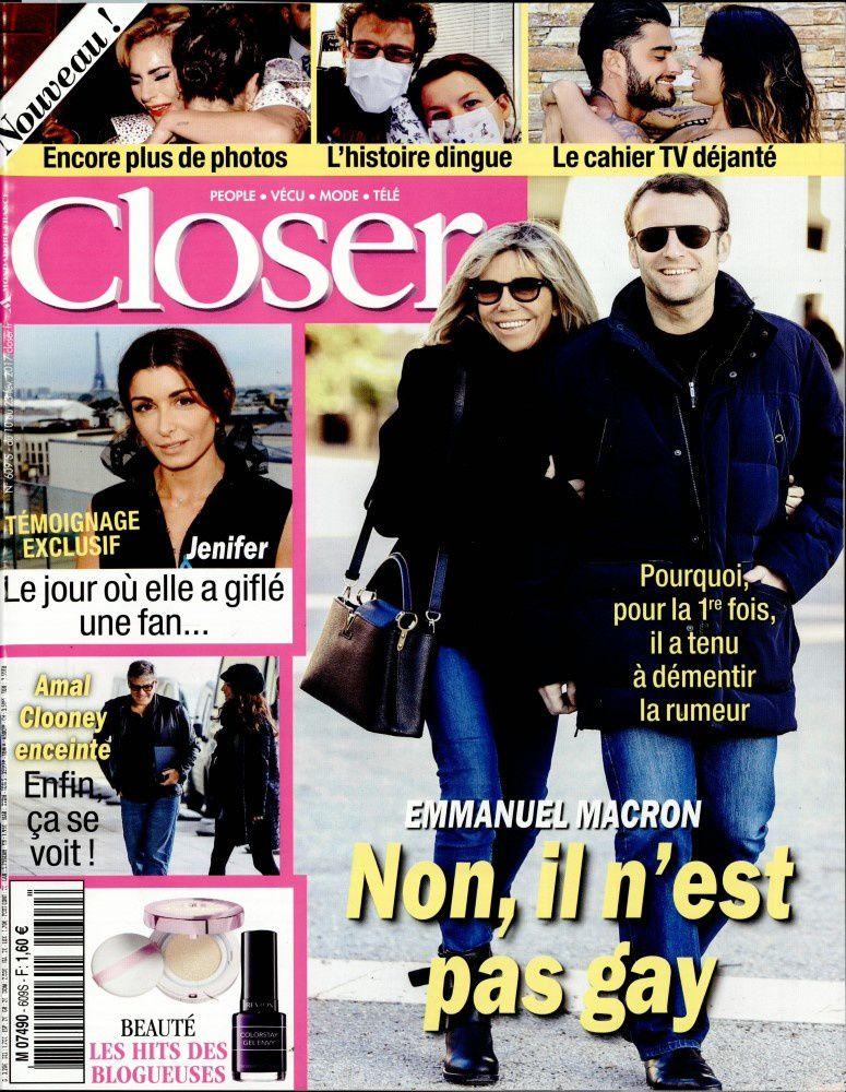 La une de la presse people : Emmanuel Macron, Nabilla, Patrick Bruel.