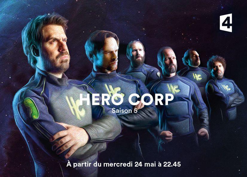 Hero Corp saison 5 dès ce mercredi 24 mai sur France 4.