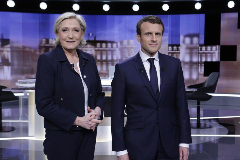Audience du débat Emmanuel Macron - Marine Le Pen mercredi soir.