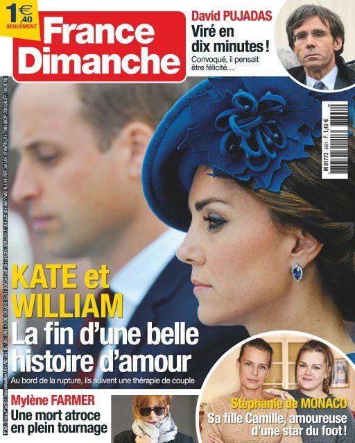 La Une de la presse people : Kate, Charlotte Gainsbourg, Benzema...