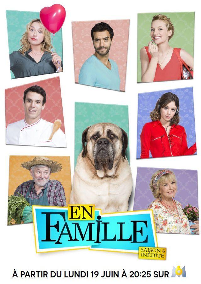 Saison 6 inédite d'En famille à partir de ce lundi 19 juin sur M6.