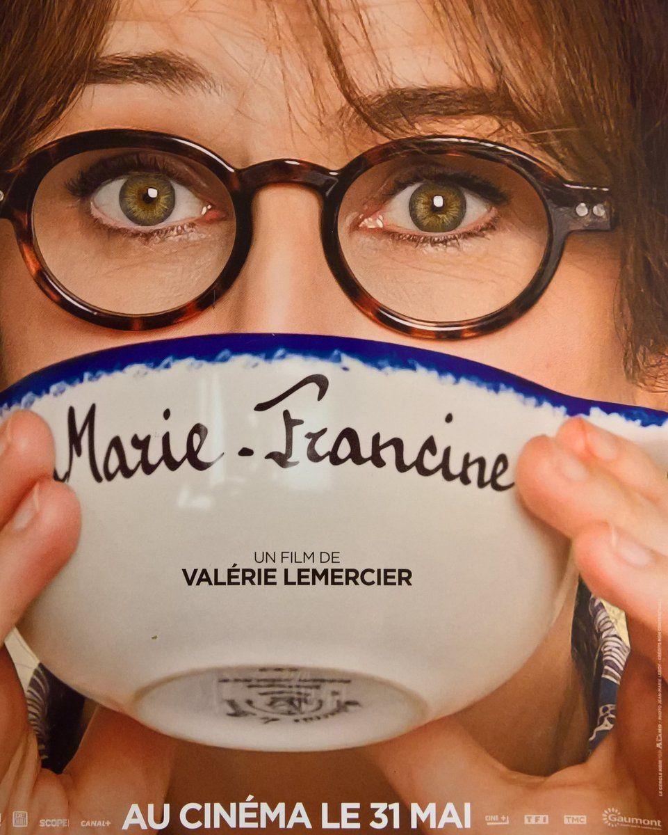 Dans les salles ce mercredi : Marie-Francine, de et avec Valérie Lemercier.