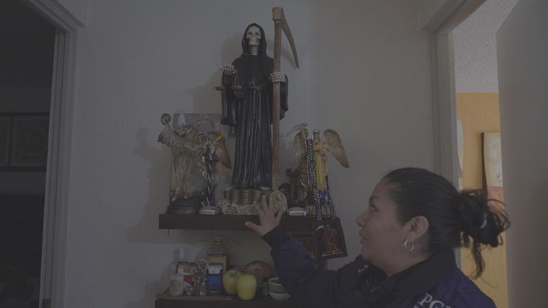Enquête inédite sur le culte de La Santa Muerte (« la sainte mort ») ce soir sur France Ô.