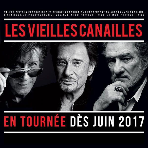 Hallyday, Dutronc et Eddy Mitchell réunis dans le 20H de TF1 dimanche.