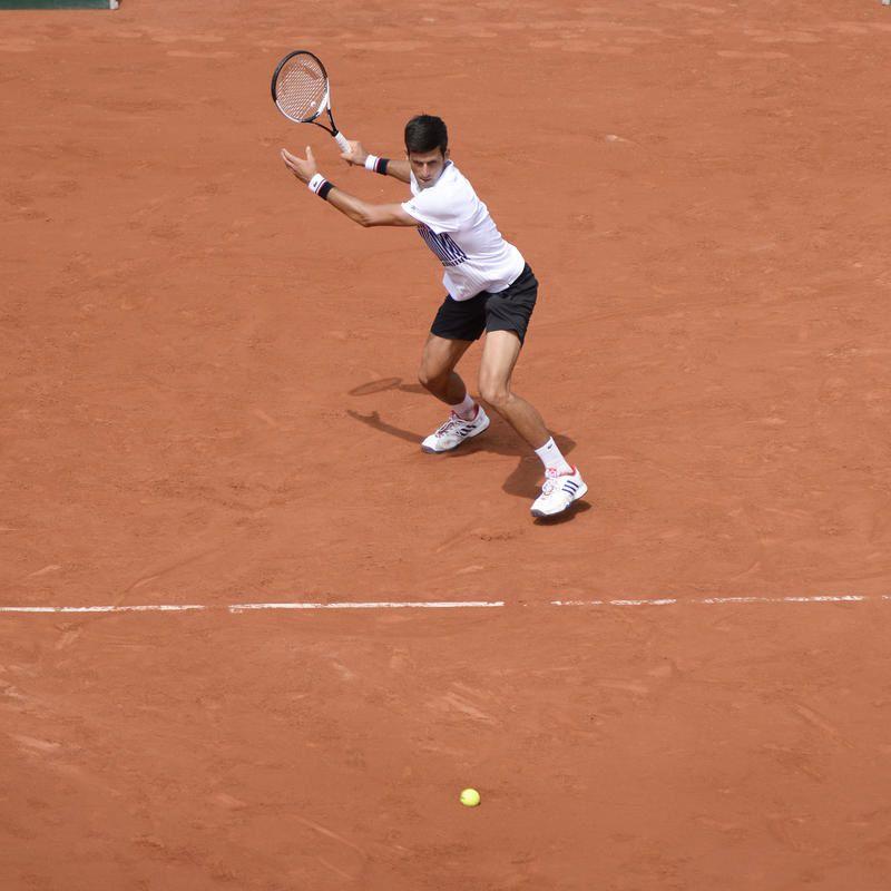 """André Agassi : """"C'est le moment pour moi de prendre soin de Novak Djokovic""""."""