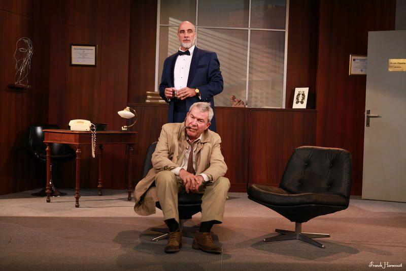 Diffusion ce soir sur France 4 de la pièce Columbo, avec Martin Lamotte.