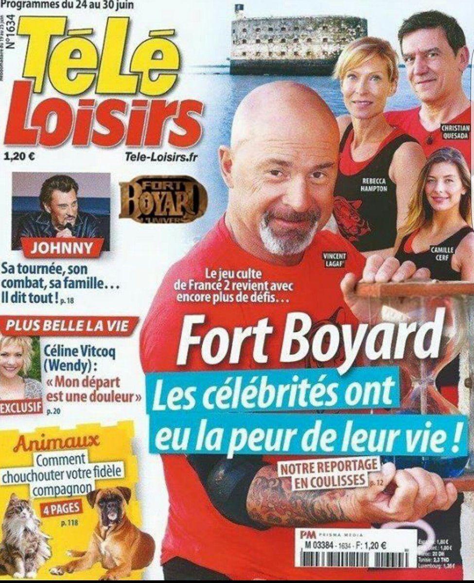 La Une des hebdos TV cette semaine : Cyril Féraud, Ardisson, Fort Boyard...