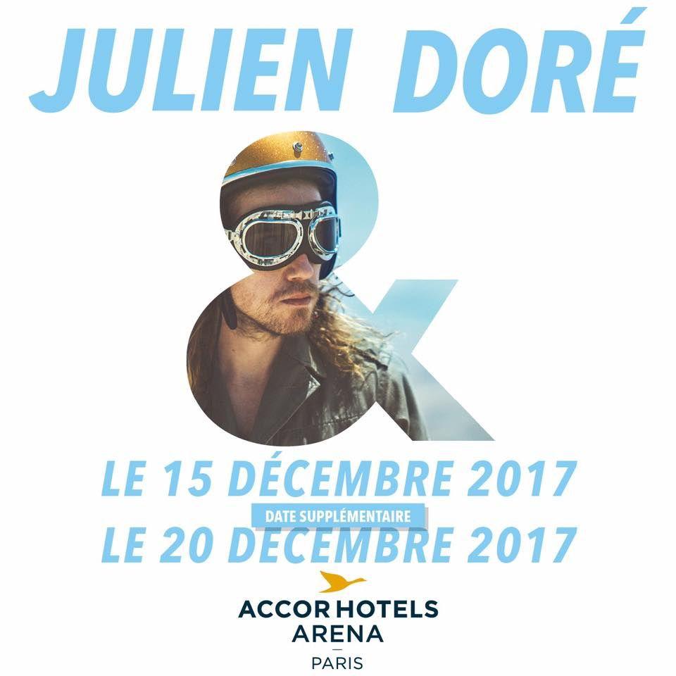 Un second concert à Bercy pour Julien Doré.