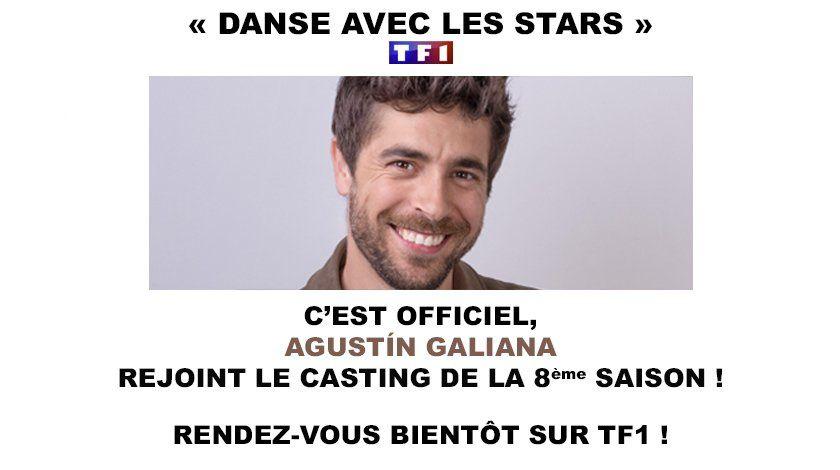 Le comédien Agustin Galiana rejoint le cast de Danse avec les stars.