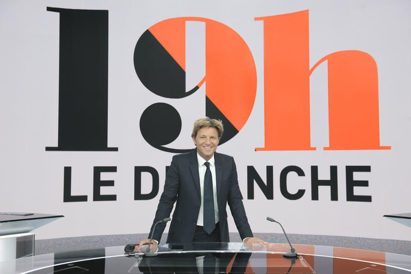 Les invités de Laurent Delahousse dans 19H le dimanche, sur France 2.