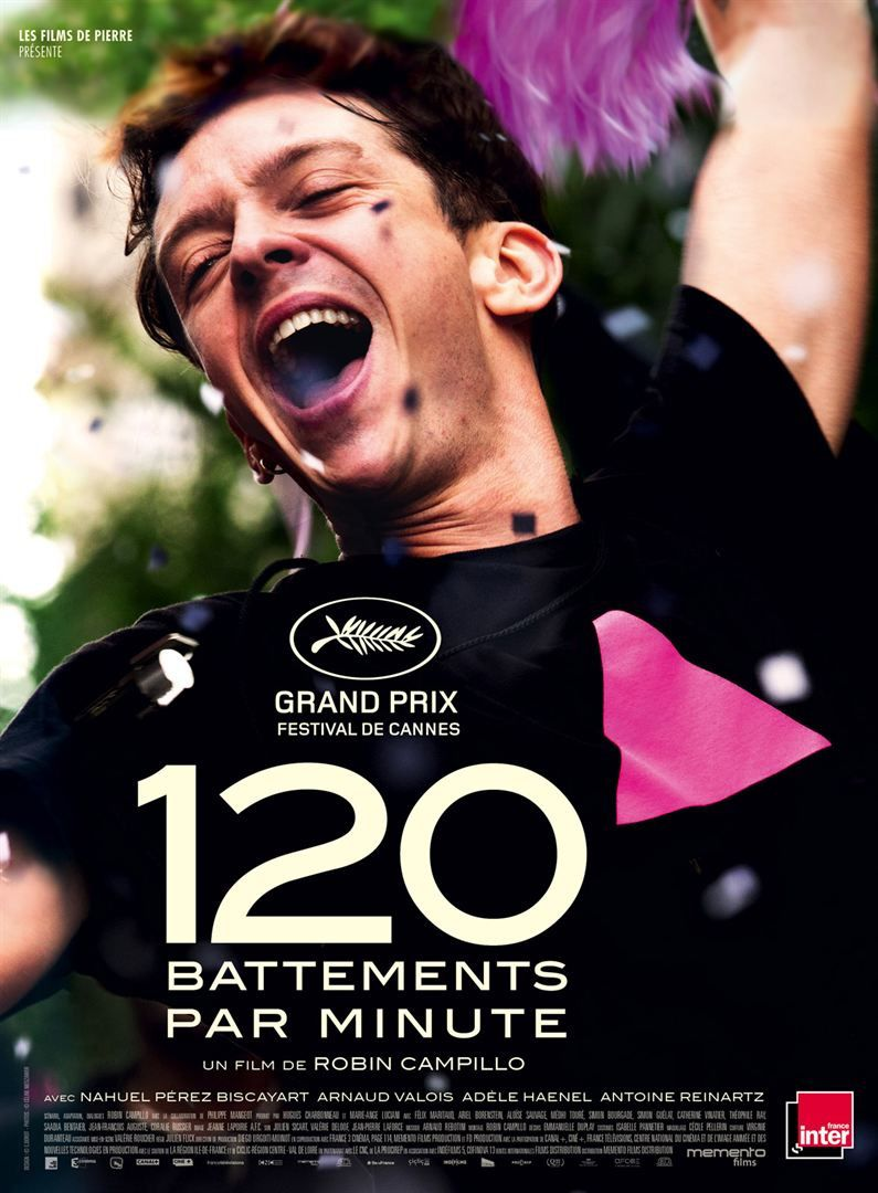 Le film 120 battements par minute représentera la France aux Oscars.