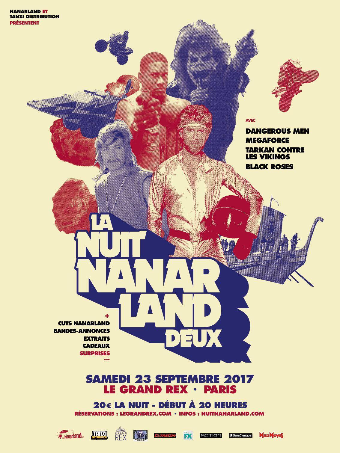 A voir ce week-end au Grand Rex à Paris : la seconde nuit Nanarland.
