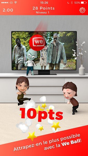 L'application We Are TV passe la barre symbolique des 100 000 utilisateurs.