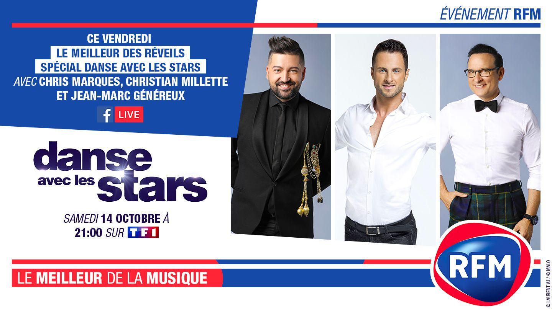 RFM radio partenaire de Danse avec les stars.
