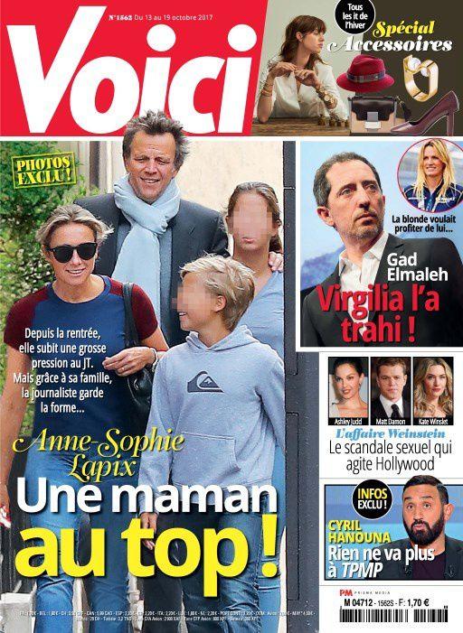 La Une de la presse people ce vendredi : Lapix, Hanouna, Lignac, Jeremstar…