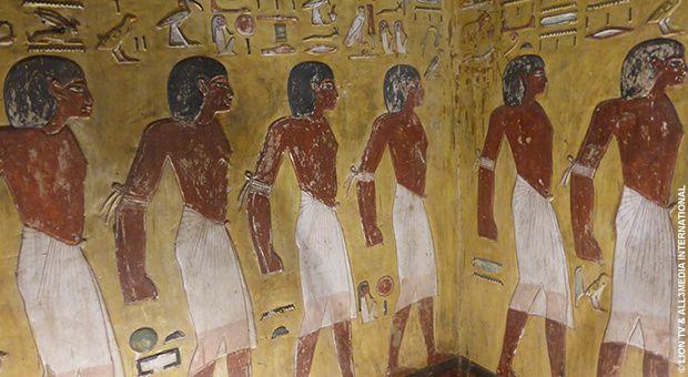 A la découverte de l'Egypte ancienne dès le 13 novembre sur la chaîne Histoire.