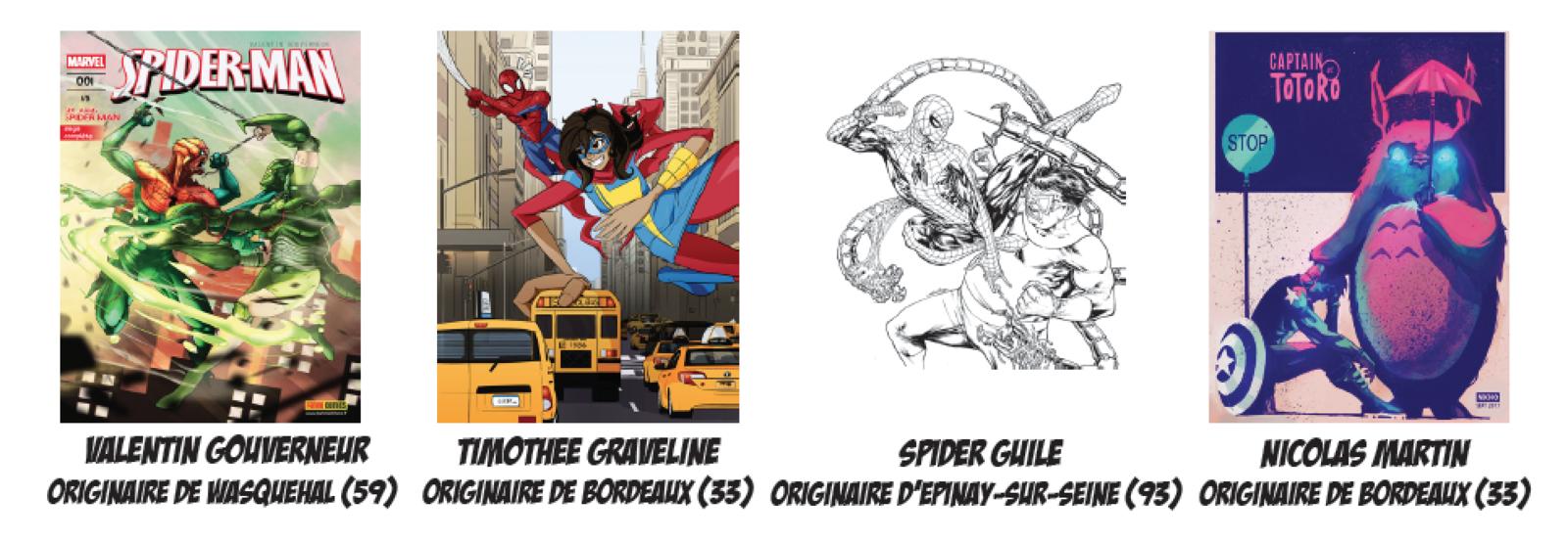 Comic Con Paris : les 10 finalistes du premier prix Jeunes Talents Comics.
