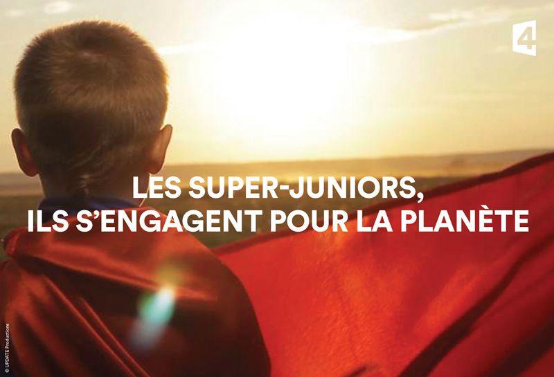 Les Super-Juniors s'engagent pour la planète ce vendredi soir sur France 4.