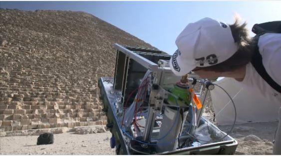 Découverte au coeur de la pyramide de Kheops : reportage diffusé lors du 20 heures de TF1 ce jeudi.