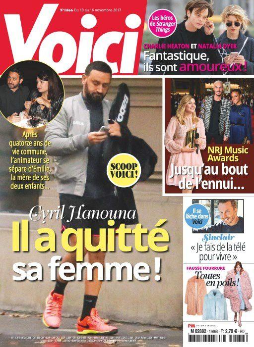 La Une de la presse people ce vendredi : Louane, Cyril Hanouna, Valérie Trierweiler...