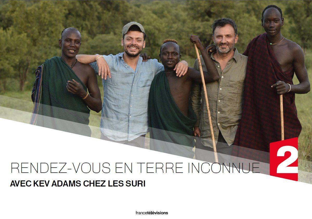 Le 5 décembre sur France 2 : Kev Adams rencontre les Suri au sud de l'Ethiopie.