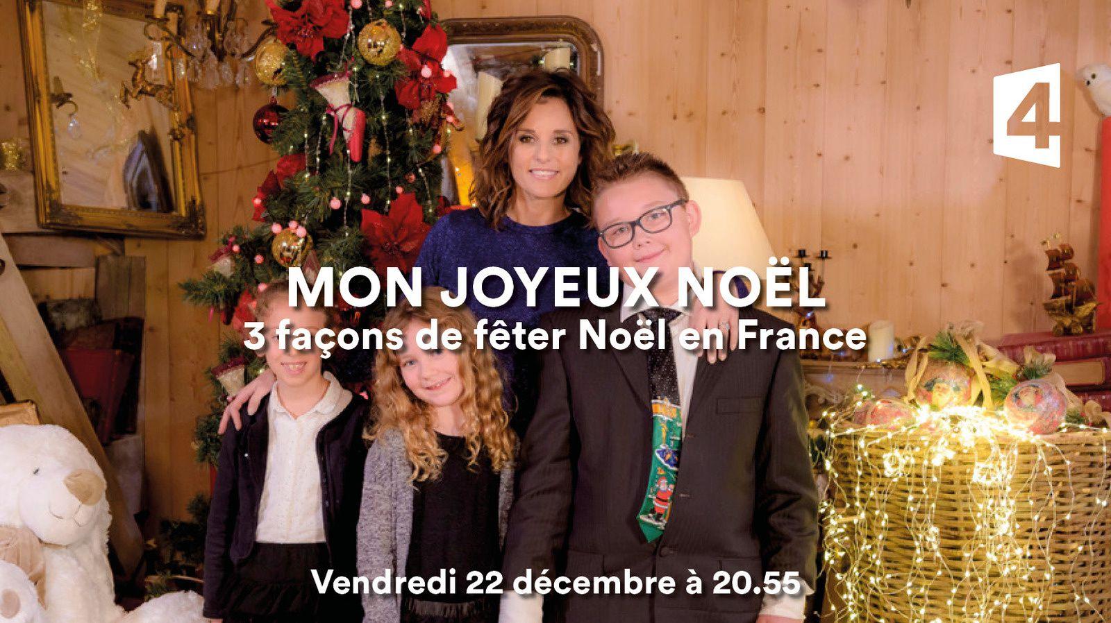 Mon joyeux Noël avec Faustine Bollaert, le 22 décembre sur France 4.