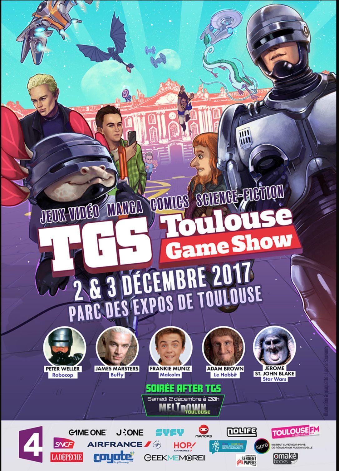 Frankie Muniz, alias Malcolm, au Toulouse Game Show ce week-end.