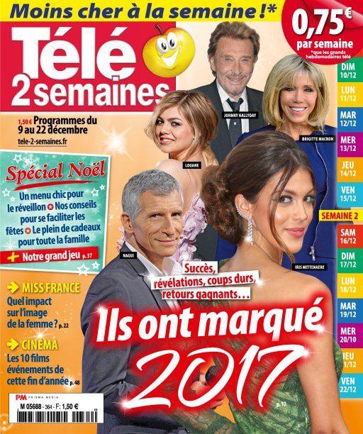 La Une de la presse hebdomadaire TV : Sophie Davant, Nolwenn, Céline Dion…