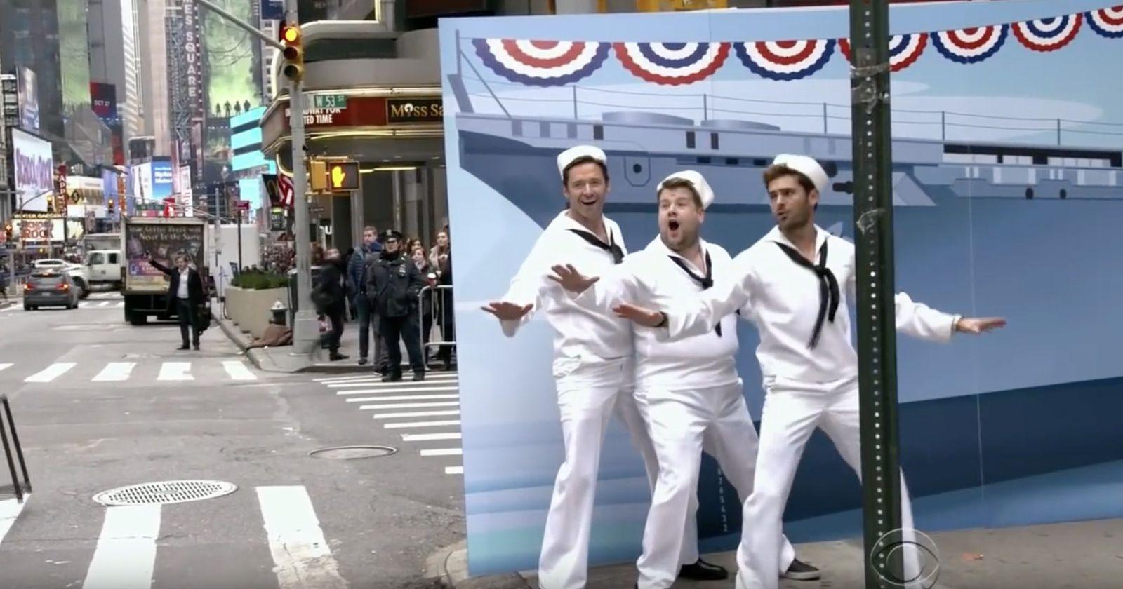 Crosswalk The musical : 11 minutes de bonne humeur avec James Corden, Hugh Jackman et Zac Efron.