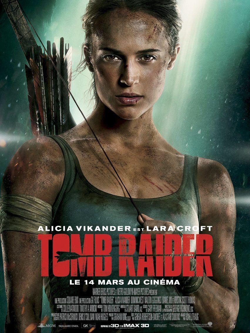 Nouvelle bande-annonce du film Tom Raider, avec Alicia Vikander.