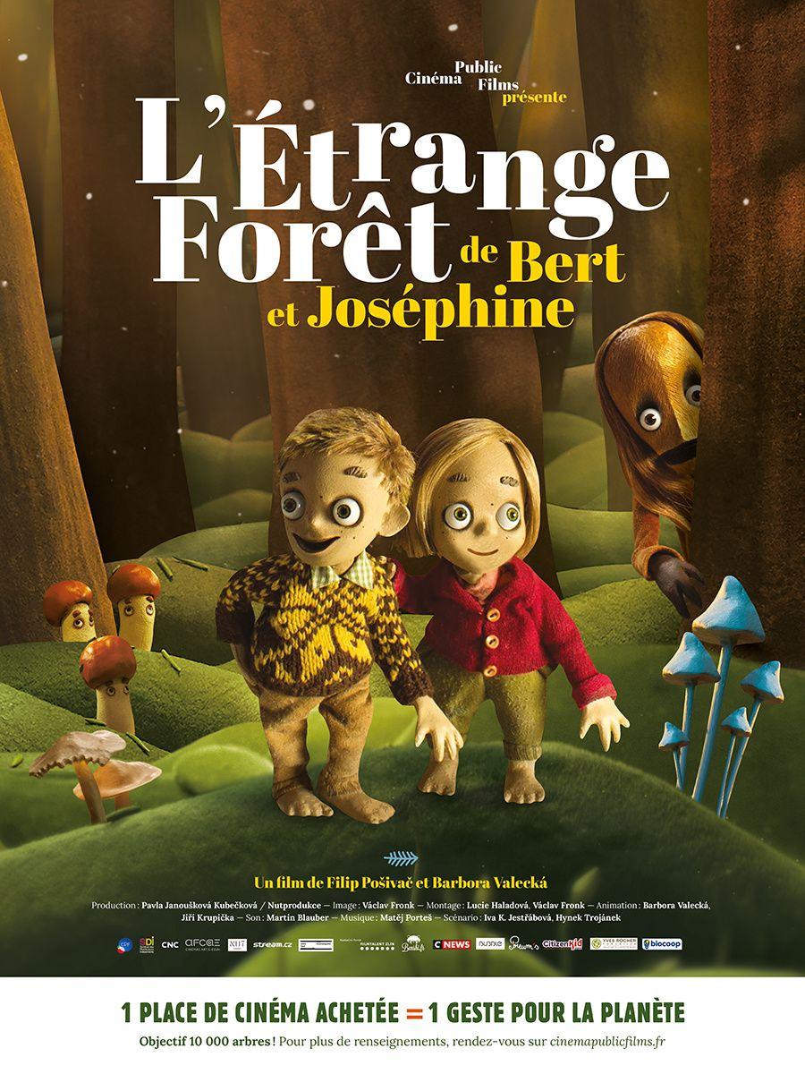 Bande-annonce du film d'animation L'étrange forêt de Bert et Joséphine.
