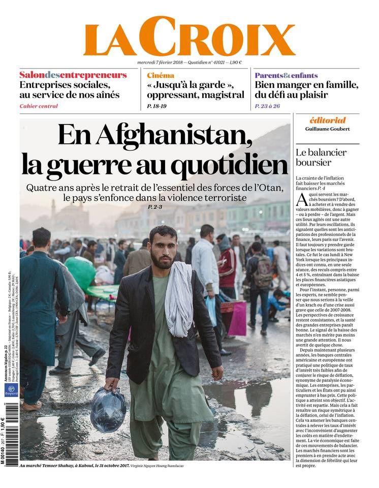 La Une des quotidiens nationaux parus ce mercredi 7 février.
