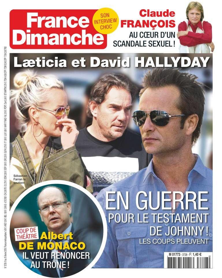 La Une de la presse people : Laure Manaudou, Sophie Marceau, Laeticia Hallyday.