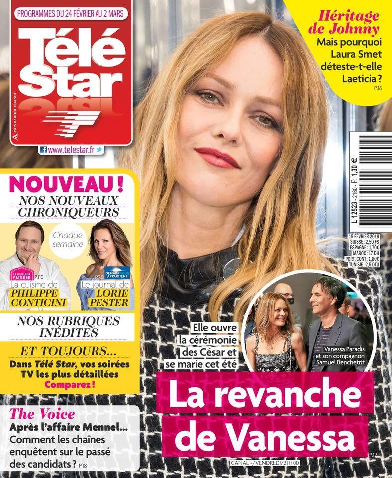 La Une des hebdos de la presse TV : Daphné Burki, Les César, Vanessa Paradis…