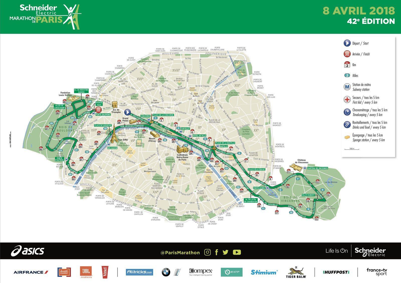 Marathon de Paris dimanche matin : le dispositif de France Télévisions.