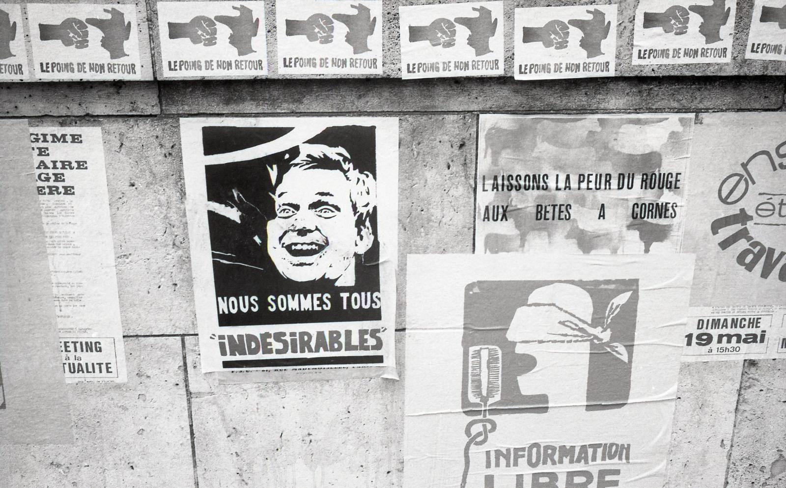 Une série documentaire sur Mai 68 les 16, 23 et 30 avril sur France 3 Paris Ile-de-France.