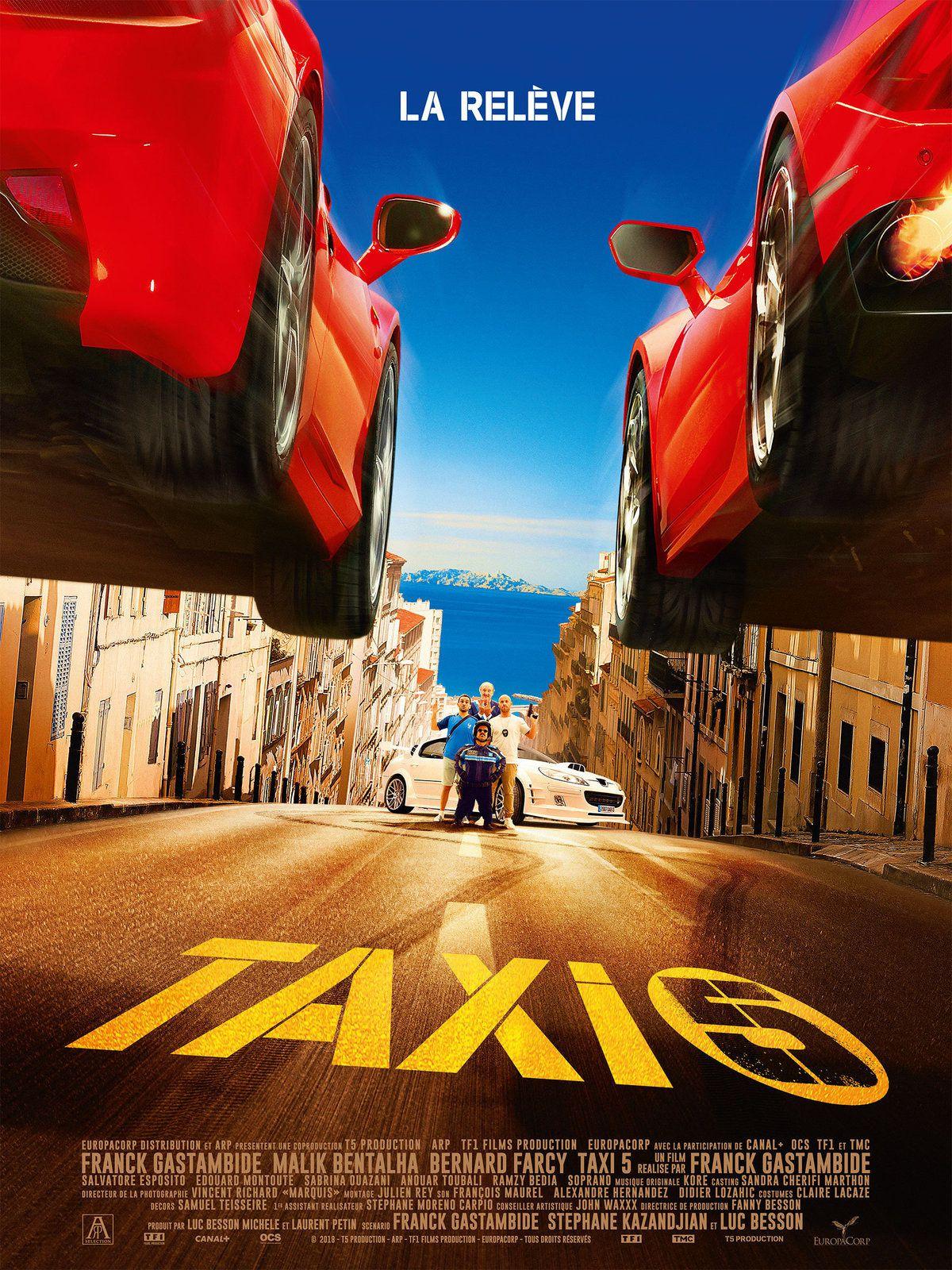 Sortie nationale ce mercredi du film Taxi 5.