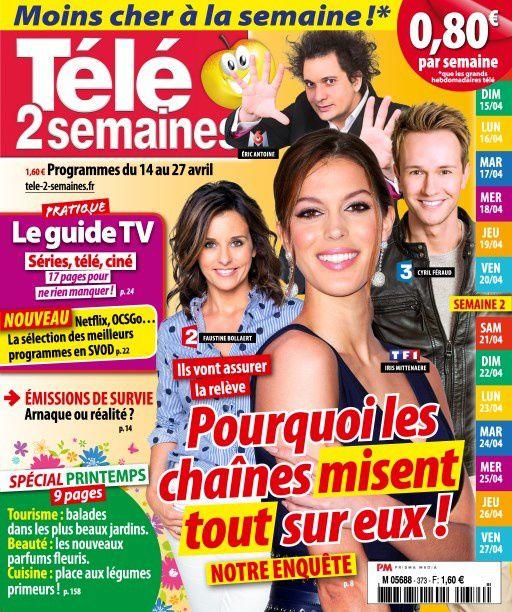 La Une des hebdos TV : Corinne Masiero, Ingrid Chauvin, Karine Ferri...