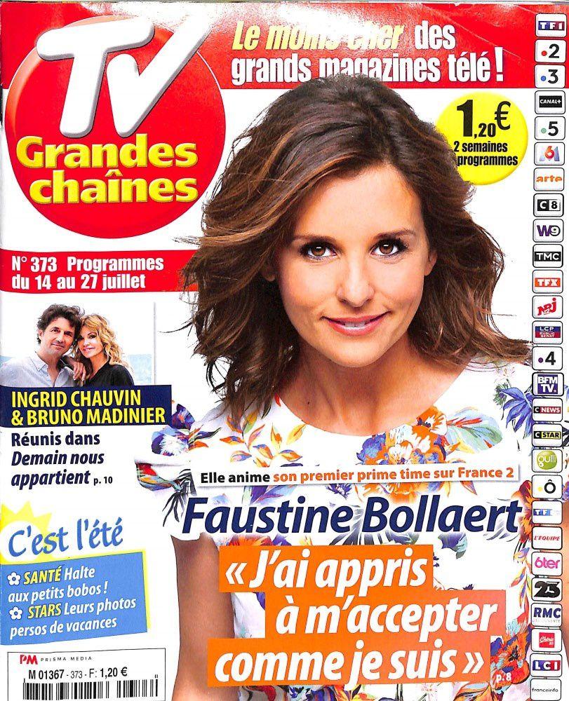 La Une des magazines TV : Audrey Lamy, Ingrid Chauvin, Faustine Bollaert...