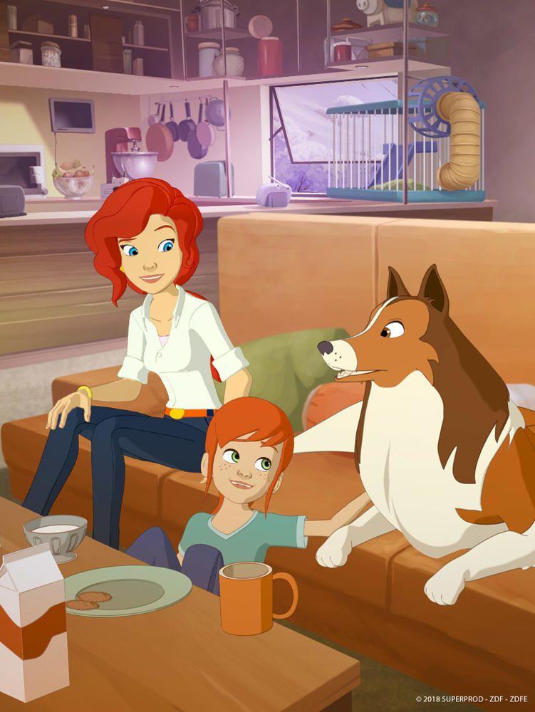 La saison inédite de la série animée Lassie fait son arrivée sur TF1.