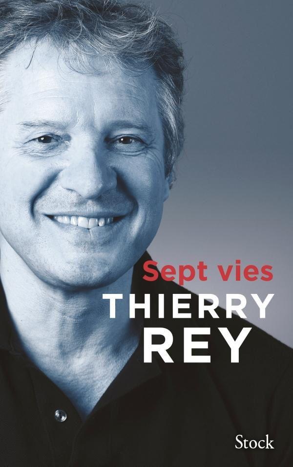 Publication du livre Sept vies, écrit par l'ancien champion sportif Thierry Rey.