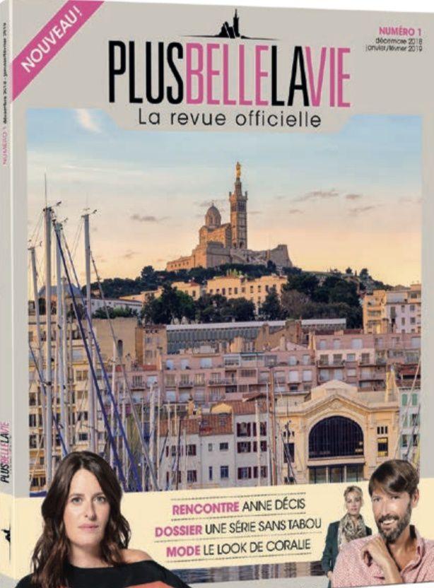 Le feuilleton Plus belle la vie a désormais sa revue officielle (sommaire).