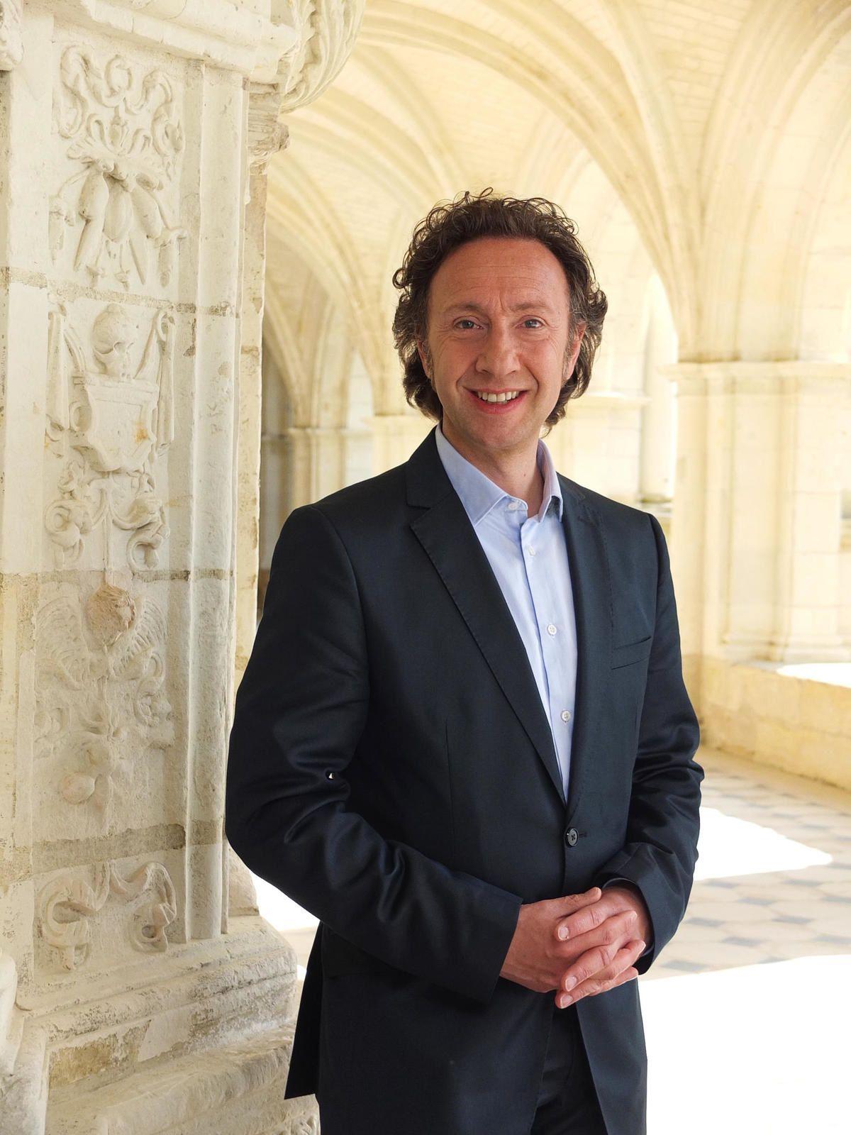 Au Sénat, audition de Stéphane Bern sur le bilan de la mission sur le patrimoine.