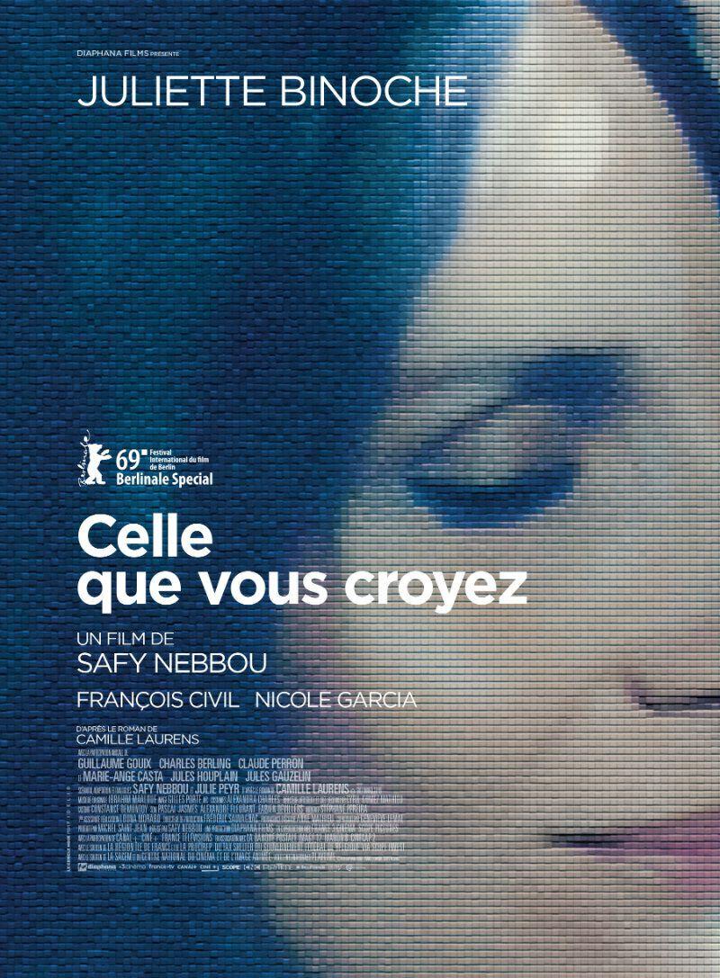 Dans les salles dès ce mercredi : Celle que vous croyez, avec Juliette Binoche, François Civil et Nicole Garcia.